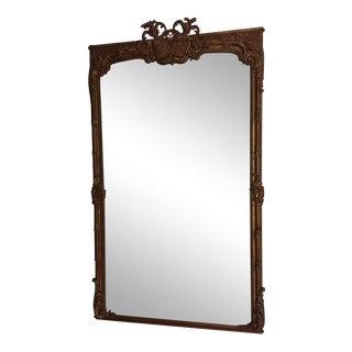 Carved San Francisco Lobby Mirror
