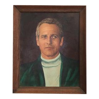 Vintage Portrait of Paul Newman