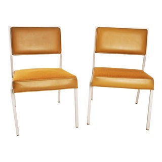 Mid-Century Modern Steelcase Aluminum Office Chairs - A Pair
