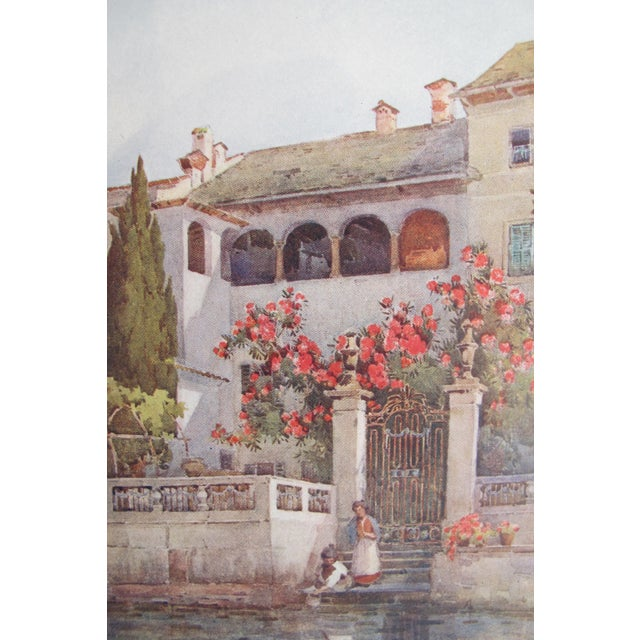 1905 Ella du Cane Print, Villa Garden, Lago D'Orta - Image 4 of 5