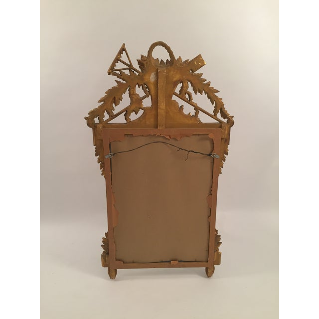 Neoclassical Gold Leaf Mirror - Image 11 of 11