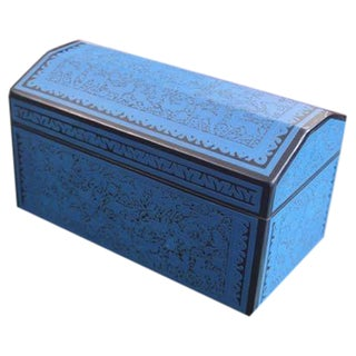 Olinala Blue Mini Trunk