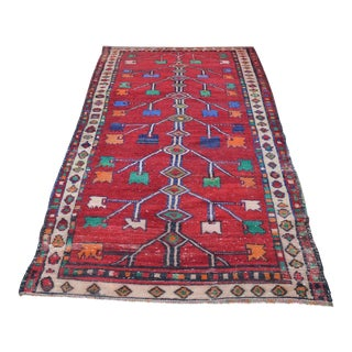 Turkish Oushak Rug- 4′4″ × 7′10″