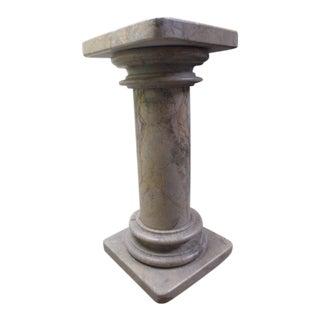Mid-Century Marble Pedestal