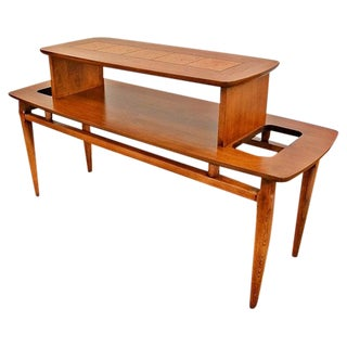 Lane Mid-Century Two-Tier Coffee Table