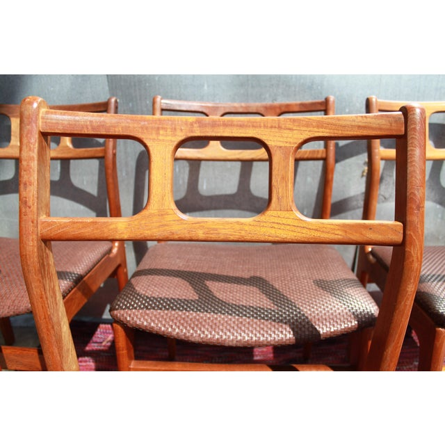 1960s D-Scan Teak Dining Chairs - Image 6 of 9