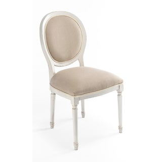 Sarreid Round Back Stucco & Flax Side Chair - Set of 6