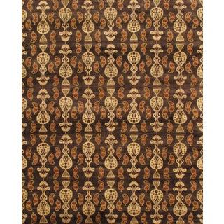 Pasargad Ikat Wool Rug - 9′1″ × 12′2″