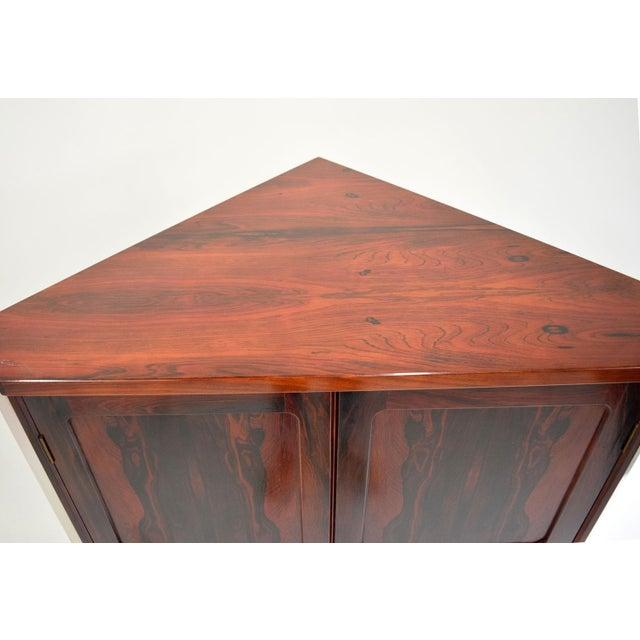 Arne Wahl Iversen Attri. Danish Rosewood Cabinet - Image 9 of 10