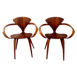 Norman Cherner Pretzel Chairs - A Pair
