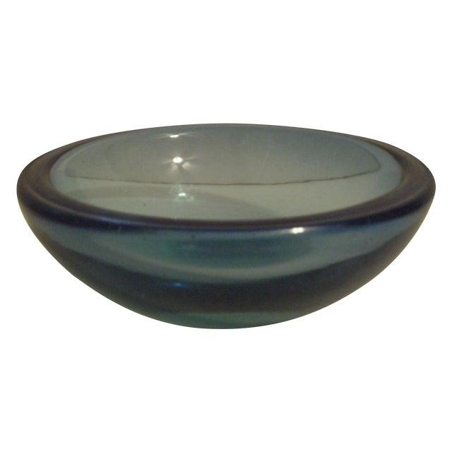 Blue Art-Glass Bowl - Image 1 of 3