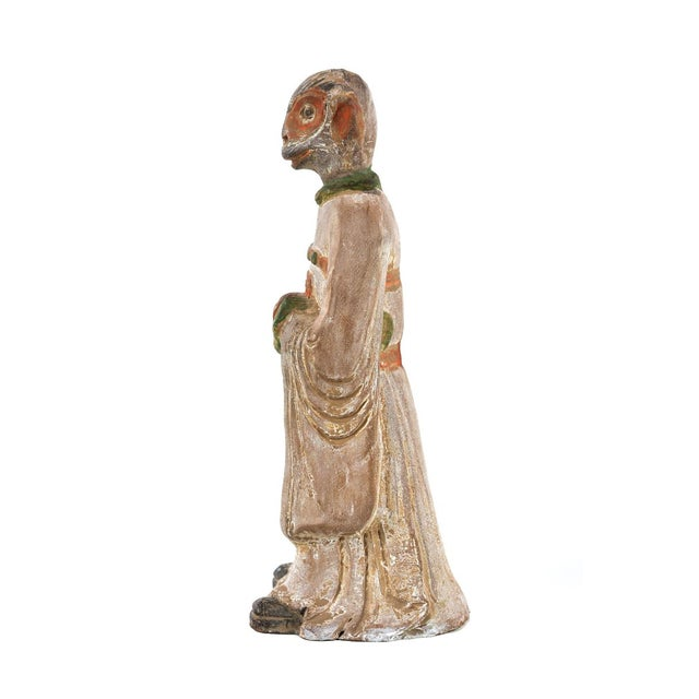 19th C. Chinese Monkey Zodiac Figurine - Image 3 of 9