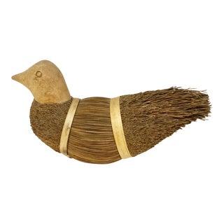 Mongolian Folk Art Bird Figure