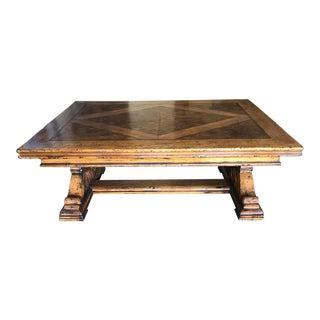 Henredon Castellina Wood Coffee Table