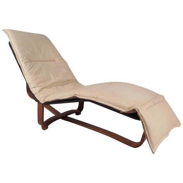 Mid century modern chaise longue by ingmar knut relling for Chaise longue northern ireland