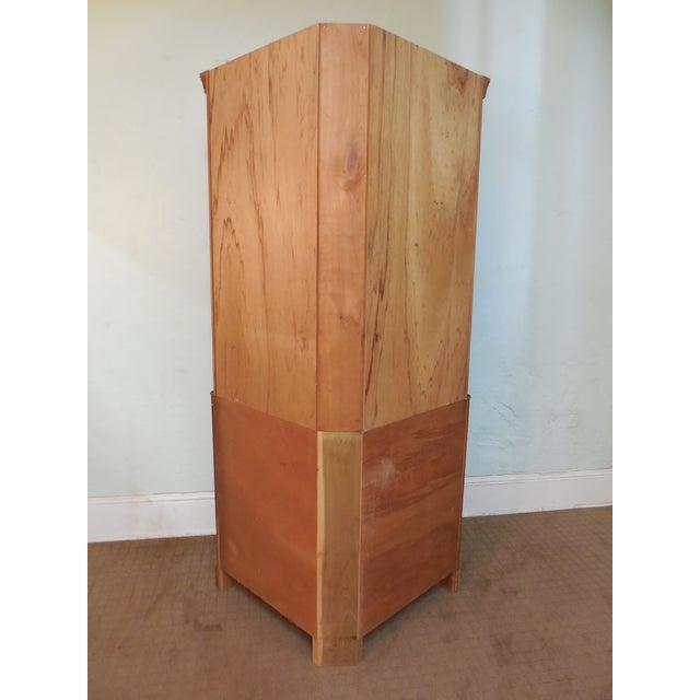 Vintage Custom Solid Cherry Corner Cabinet - Image 4 of 10