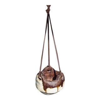 Handmade Hanging Clay Pot