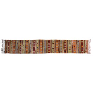 Turkish Kilim Runner - 2′4″ × 10′2″