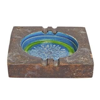 Bitossi Raymor Italian Mid Century Ceramic Ashtray