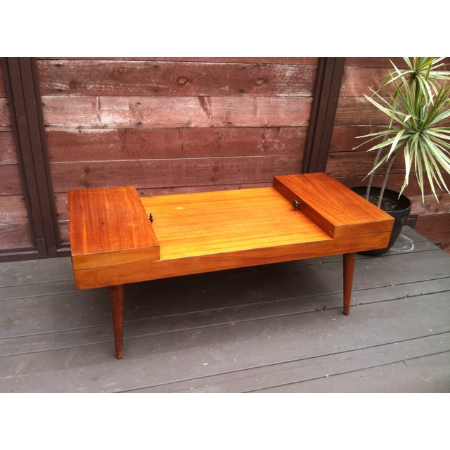 Vintage Rock-Ola Coffee Table / Game Table - Image 2 of 11