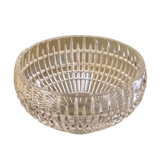 Fine Leaded Crystal Large Bowl
