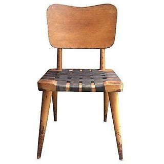 Mid-Century Knoll Style Web Chair