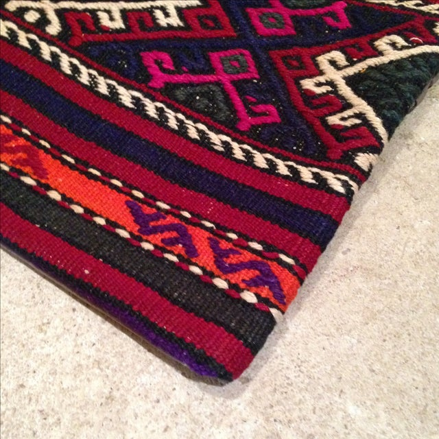 Vintage Kilim Pillow Cover - Image 3 of 5