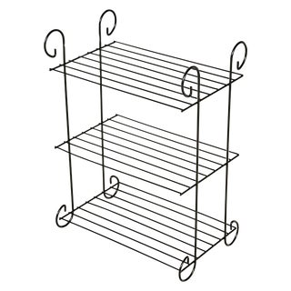 1960s Black Wire Shelf