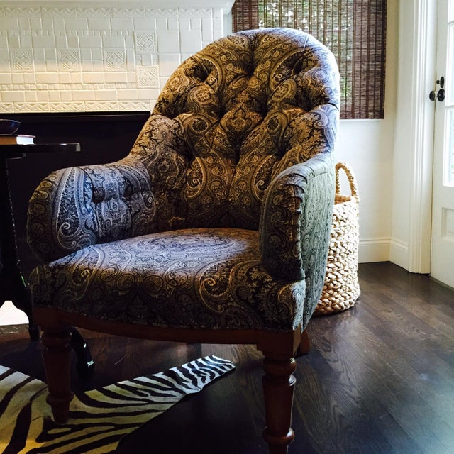 Rose Tarlow Melrose House Kensington Armchair - Image 2 of 3