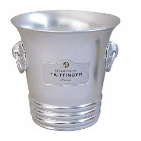 French Taittinger Champagne Ice Bucket