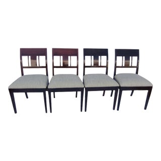 Antique Rosewood Side Chairs- Set of 4