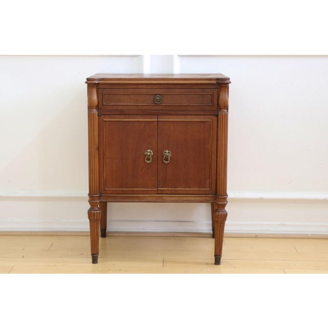 Antique French Style Nightstand - Image 3 of 9
