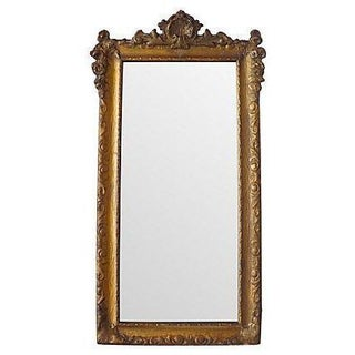 Gilded & Carved Antique Mirror