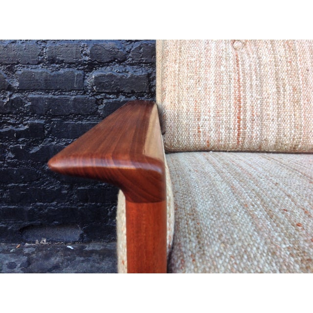 Mid Century Danish Teak Sofa - Image 4 of 8