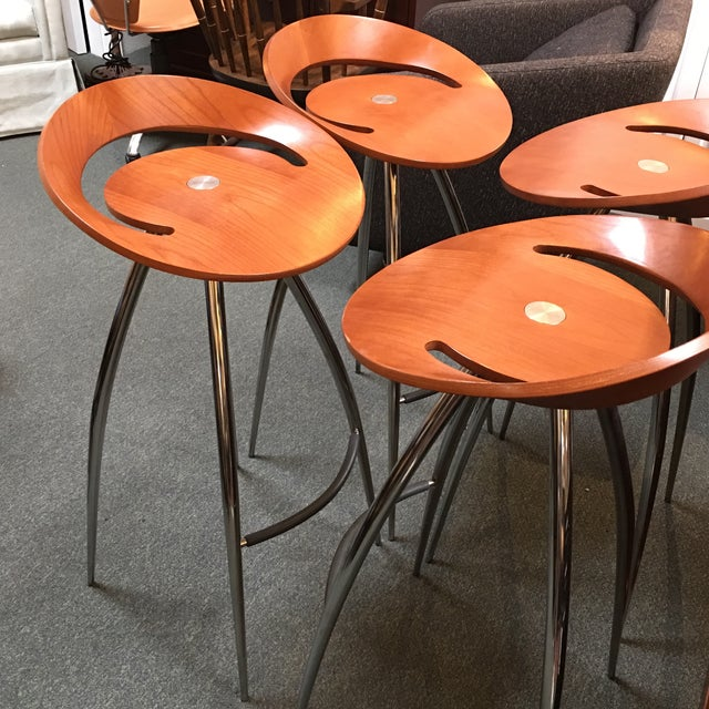 Image of Lyra Magis Bar Stools - Set of 4