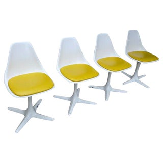 Mid-Century Tulip Chairs by Burke