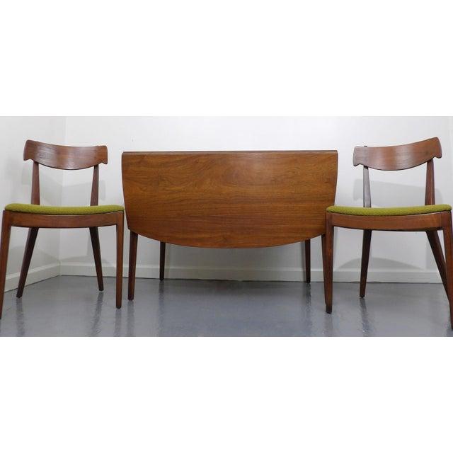 Drexel Declaration Dining Table  Chairs Kipp Stewart Mid Century - Drexel dining table
