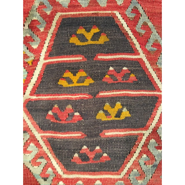 "Bellwether Rugs Vintage Turkish Kilim Rug - 8'3"" x 10'8"" - Image 10 of 11"