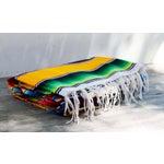 "Image of Southwestern Striped Blanket Rug - 4'11"" X 7'"