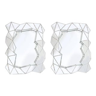 Pair of Odd Shaped Mirrors