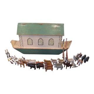 Folk Art Noah's Ark
