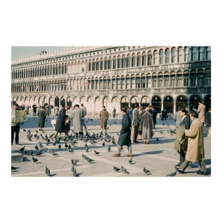 Vintage 1950s Venice Italy Limited Edition Photograph