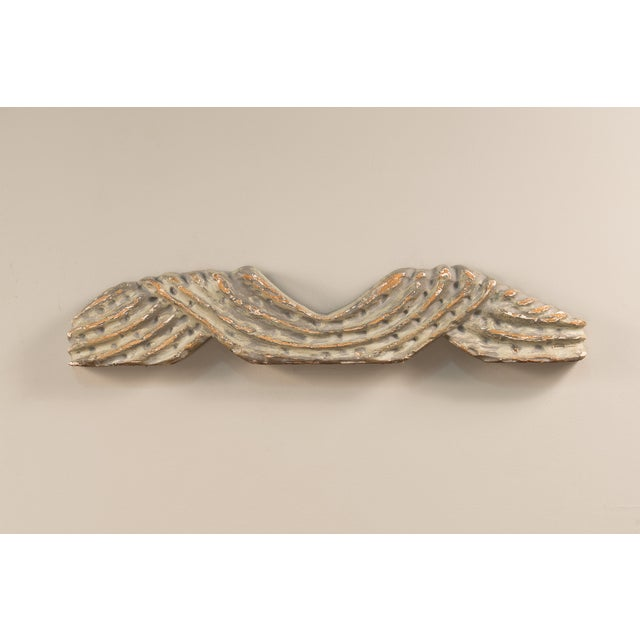Sarreid LTD Carved Wall Hanging - Image 4 of 4