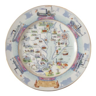 Vintage Bay Line Commemorative Plate
