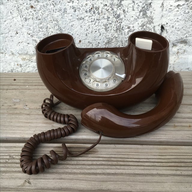 Midcentury Western Electric Donut Touch Tone Phone - Image 4 of 7