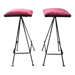 Adrian Pearsall Handmade #11 Bar Stools- A Pair