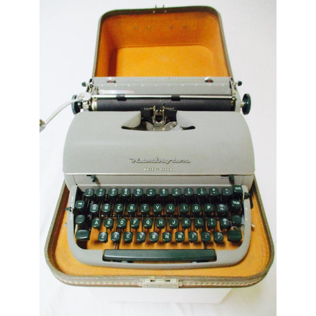 Vintage Remington Typewriter With Case - Image 4 of 9