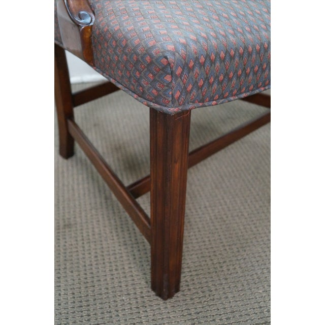 Mahogany Chippendale Armchairs - A Pair - Image 8 of 10