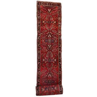 1910s Antique Persian Lilihan Hand Made Runner- 2′8″ × 23′3″