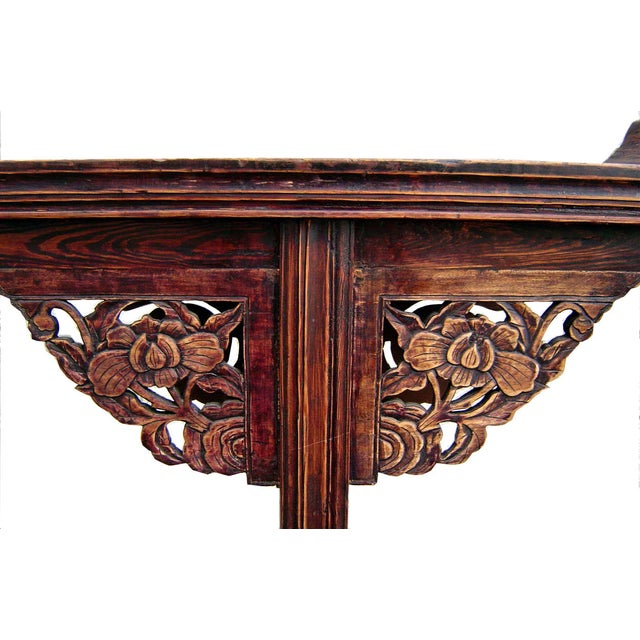Antique 1800s Chinese Altar Table - Image 2 of 5